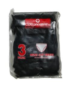 Cotton Valley 3 Pack Slip Briefs