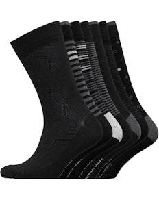 Smith And Jones Blacksmith Seven Pack Socks Assorted