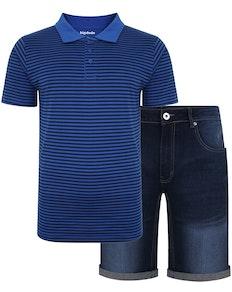 Bigdude Polo Shirt & Shorts Bundle 4