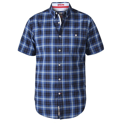 D555 Watson Check Shirt Navy