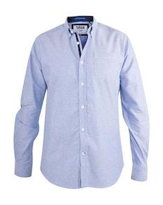 D555 Oxford Hemd Clarence Blau
