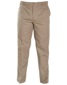 D555 Basilio Elastic Waist Rugby Trousers in Stone