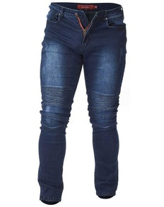 D555 Troy Tapered Fit Biker Jeans Tall