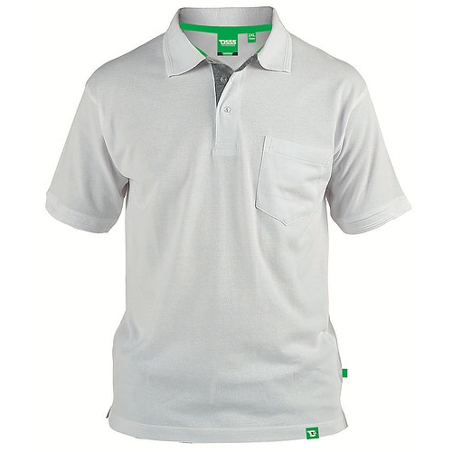 D555 Pique Polo Shirt With Pocket