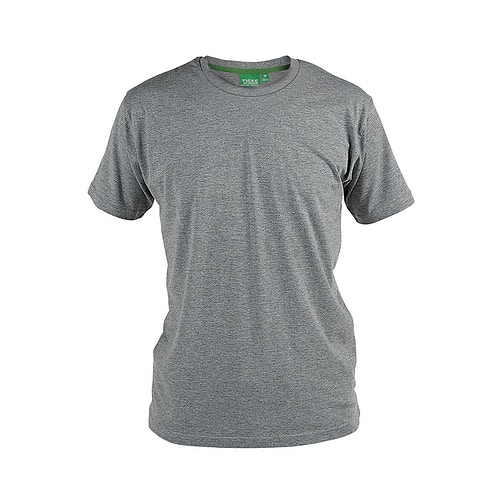 D555 Premium Cotton T-Shirt Grey