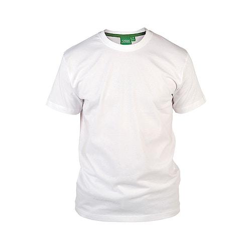 D555 Premium Cotton T-Shirt White