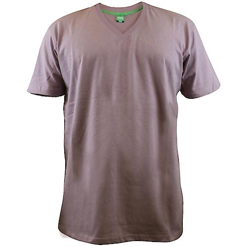 D555 Premium V -Neck T-Shirt Grape