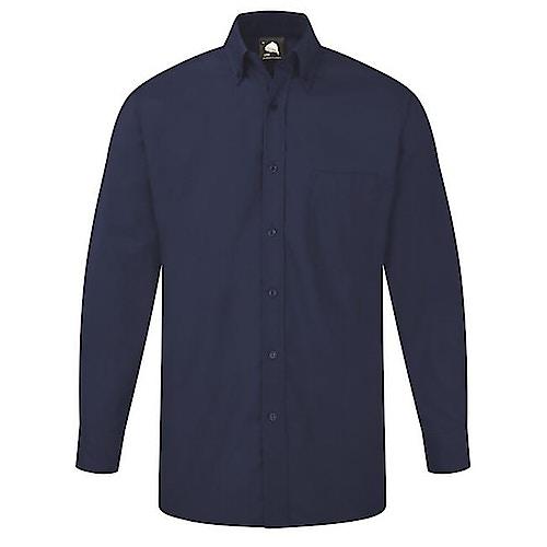 ORN Premium Oxford Long Sleeve Shirt Royal Blue