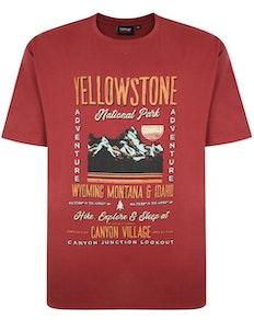 Espionage Yellowstone Tee Red