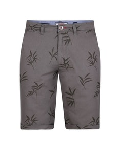D555 Chapman Printed Stretch Shorts Khaki