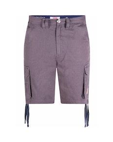 D555 Fletcher Cargo Shorts Grey