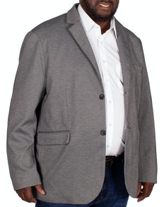 Tooting & Brow Textured Blazer Charcoal