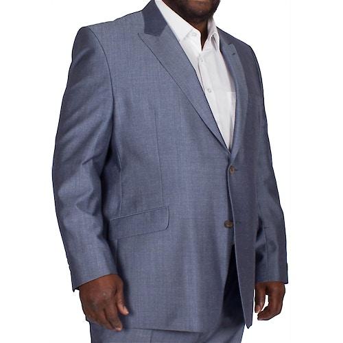 Hugo James Hazan Jacket Blue Mohair
