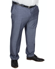 Hugo James Hazan Trousers Blue Mohair