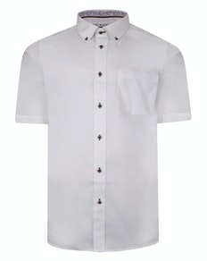 Cotton Valley Short Sleeve Shirt White