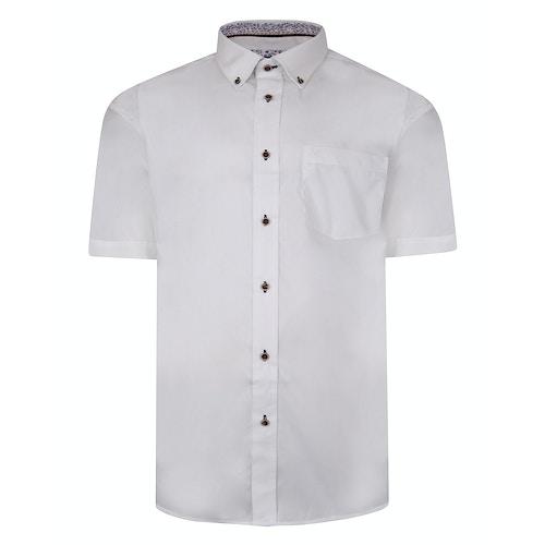 Cotton Valley Short Sleeve Shirt White