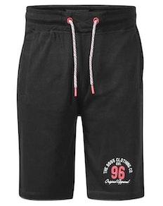 D555 Tompkins Fleece Shorts Schwarz