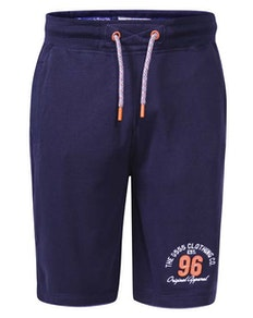 D555 Tompkins Fleece Shorts Blau