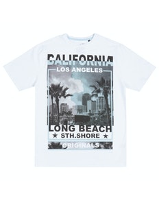 Pierre Roche LA South Shore T-Shirt White