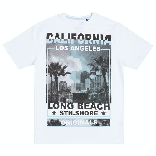 Pierre Roche LA South Shore T-Shirt White
