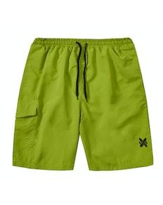Side Pocket Swim Shorts Green