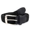 Simon Stretch Braided Belt Black