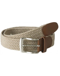 D555 Frank Stretch Braided Belt Stone