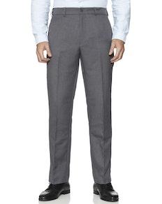 Farah Anzughose mit elastischem Bund Grau