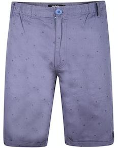 Bigdude Twill Chino Shorts Blau