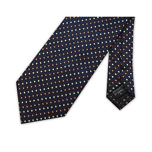 Knightsbridge extra lange Krawatte Punktemuster Blau
