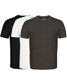 Bigdude Loungewear 3er-Pack T-Shirts