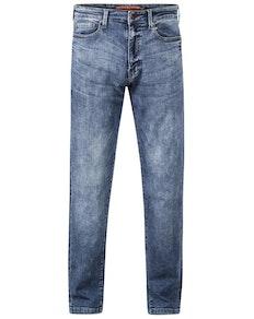 D555 Taurus Blue Denim 1959 Fit Stretch Jeans Stonewash