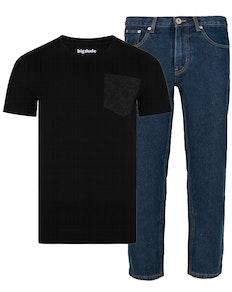 Bigdude T-Shirt & Jeans Set 3