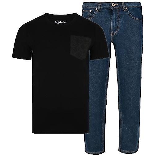 Bigdude T-Shirt & Jeans Bundle 3