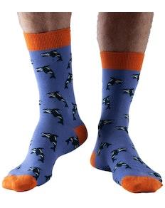 Doris & Dude Orca Socks Purple