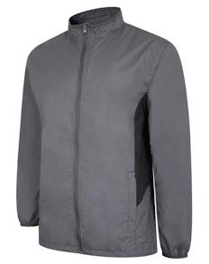 Bigdude Lightweight Contrast Panel Showerproof Jacket Charcoal