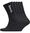 Apollo Five Pack Crew Socken Schwarz/Weiß