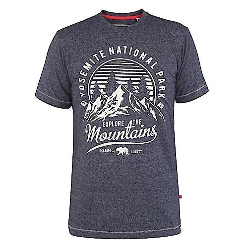 D555 Yosemite Printed T-Shirt Navy