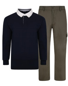 Bigdude Polo Shirt & Cargo Trousers Bundle 2