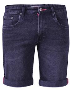 D555 Geneva Stretch Denim Shorts Schwarz