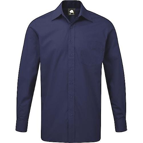 ORN Premium Manchester Long Sleeve Shirt Royal Blue