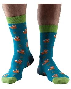 Doris & Dude Fox Socks Teal