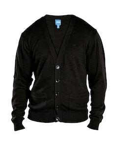 D555 Walworth Buttoned Cardigan Black
