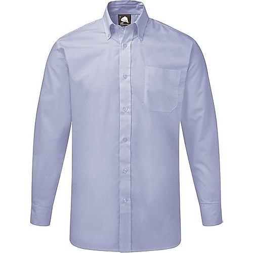 ORN Premium Oxford Long Sleeve Shirt Sky Blue