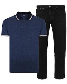 Bigdude Polo Shirt & Jeans Bundle 15