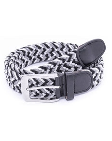 D555 Quinn Multi Coloured Stretch Braided Belt