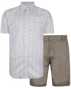 Bigdude Hemd & Shorts Set 3