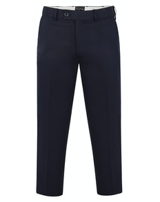 Tooting & Brow Adjustable Waist Trousers Navy