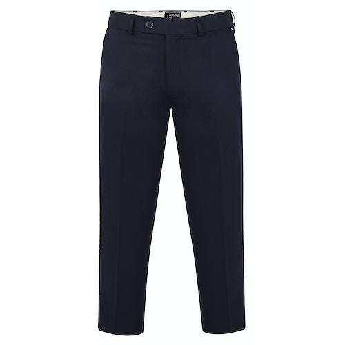 Tooting & Brow Adjustable Waist Trousers Navy