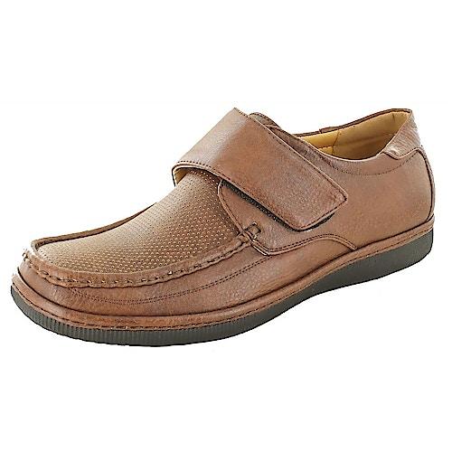 Dr Keller Albie Brown Leather Shoe